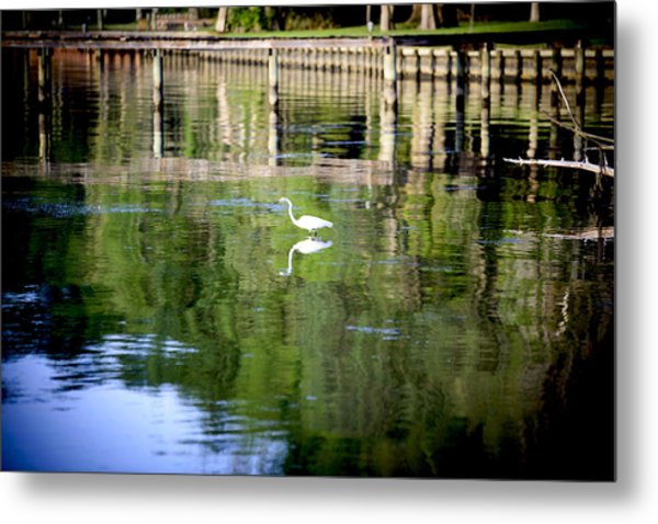 Reflecting Grace Metal Print
