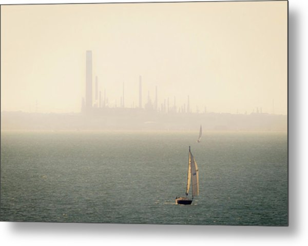 Refined Mists Metal Print