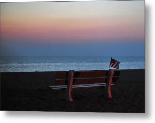 Reflect, Remember, Honor And Be Thankful Metal Print