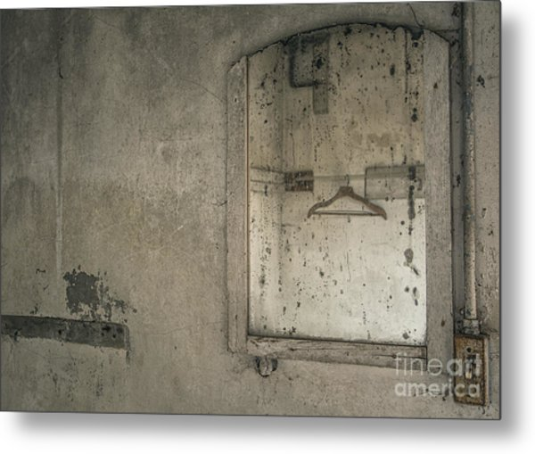 Reflected Past Metal Print