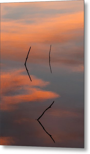 Reflected Sunrise Metal Print