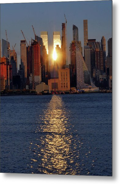Reflected Sunset Metal Print