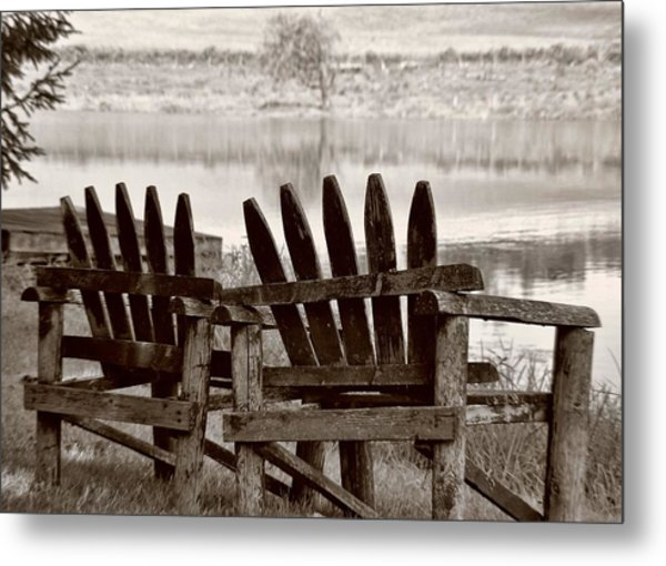 Reflecting Metal Print by JAMART Photography