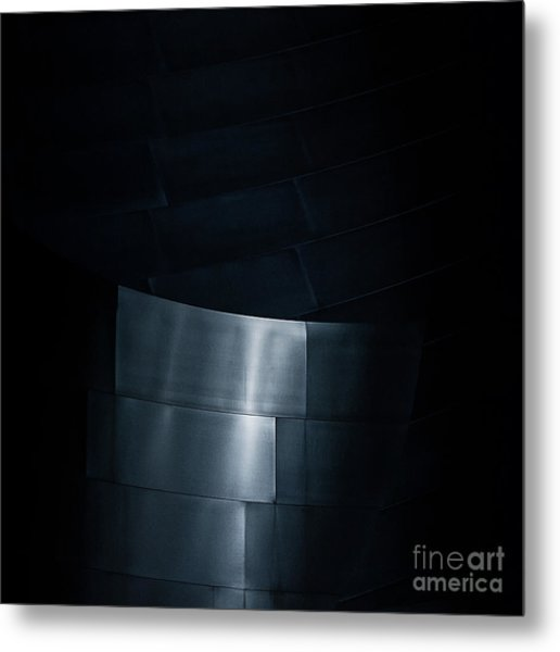 Reflecting On Gehry Metal Print