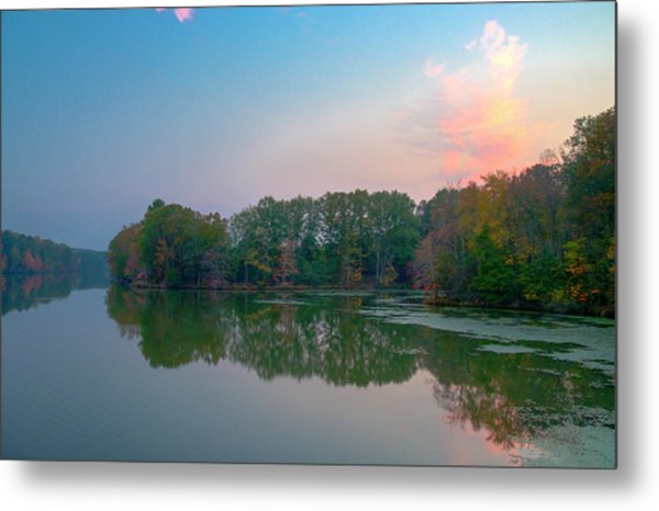 Metal Print featuring the photograph Reflection II by David Waldrop