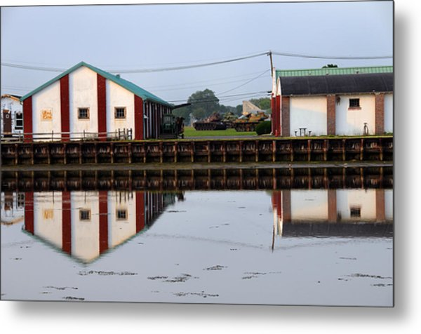 Reflection No 3 Metal Print