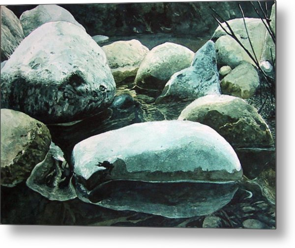 Reflection Metal Print by Richard Ong