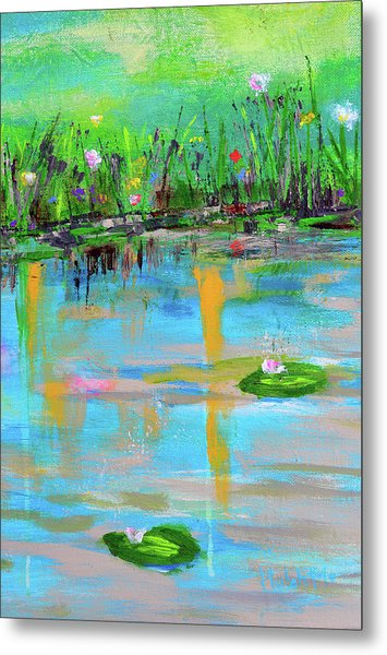 Reflections In Spring Metal Print