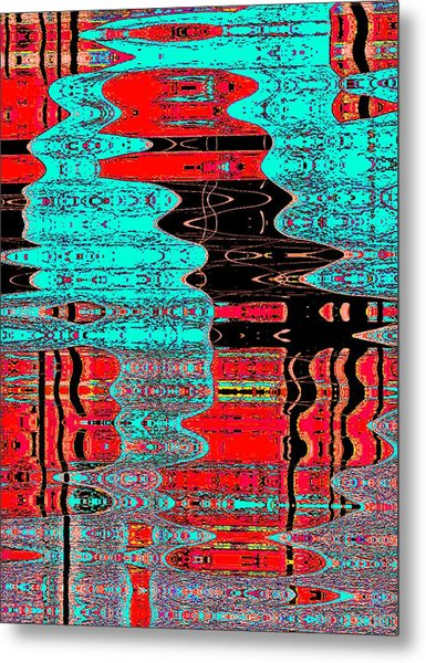 Reflections Number 1 Metal Print by Teodoro De La Santa