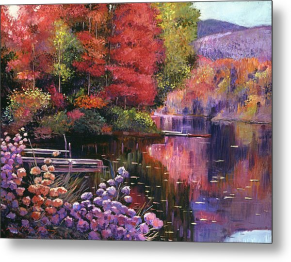 Reflections Of A Perfect Moment Metal Print