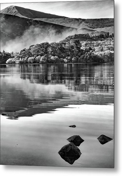 Reflections Of Derwent Metal Print