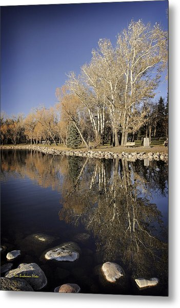 Reflections Of Henderson Metal Print