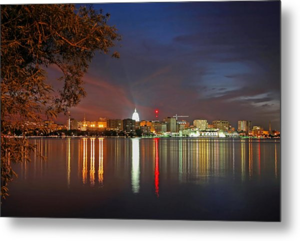 Reflections Of Madison Metal Print