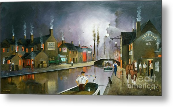 Reflections Of The Black Country Metal Print