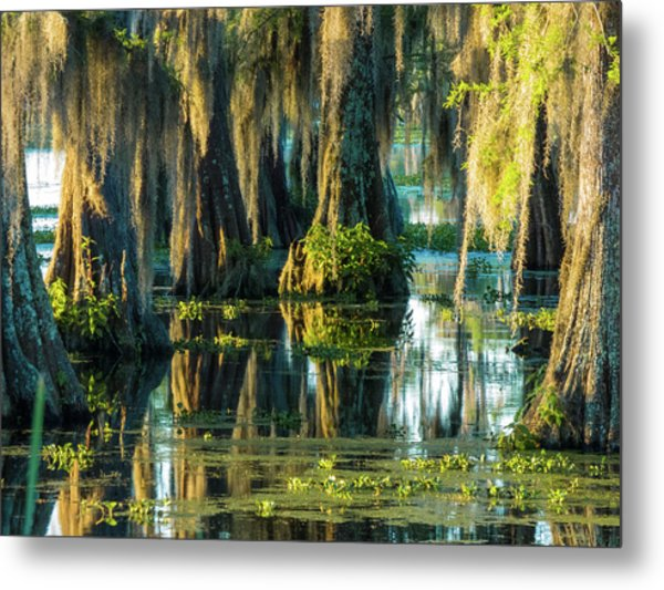 Reflections Of The Times Metal Print