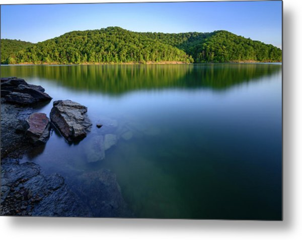 Reflections Of Tranquility Metal Print