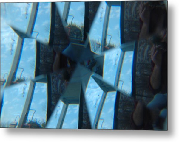 Reflections Unmasked Metal Print