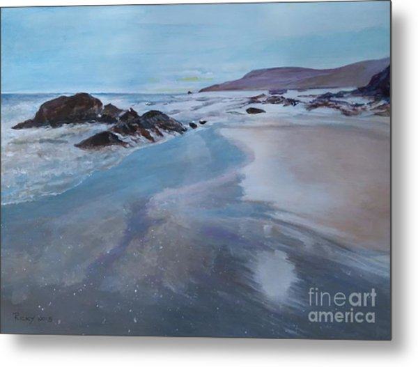 Reflections - Painting Metal Print