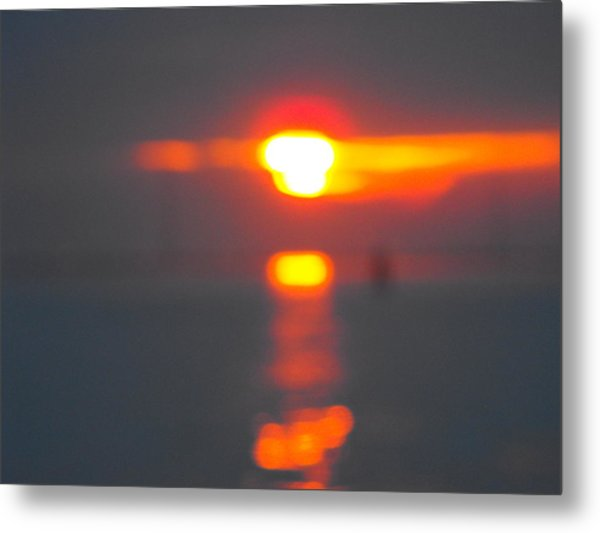 Reflections Metal Print by Viviana Puello Villa