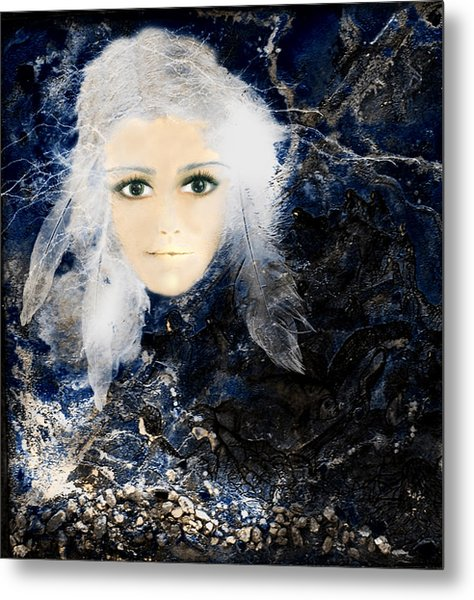 Reflectionsii Metal Print by Patricia Motley