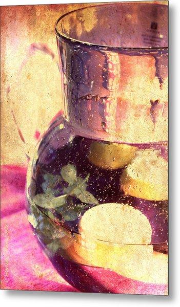 Refreshment Metal Print