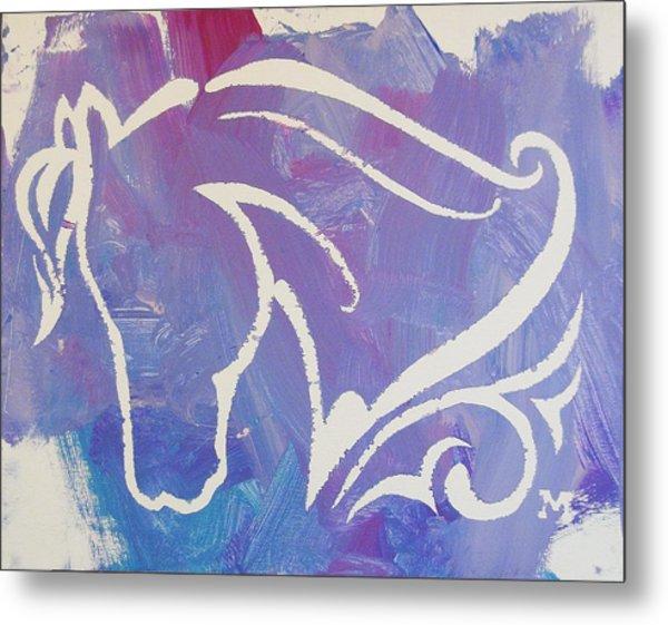 Regal Horse Metal Print