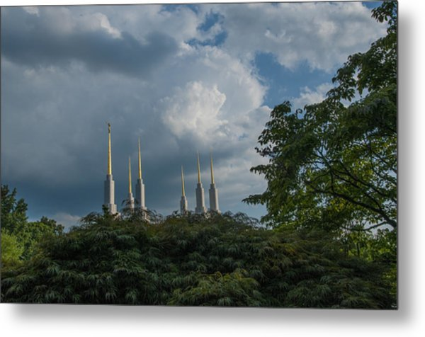 Regal Spires Metal Print