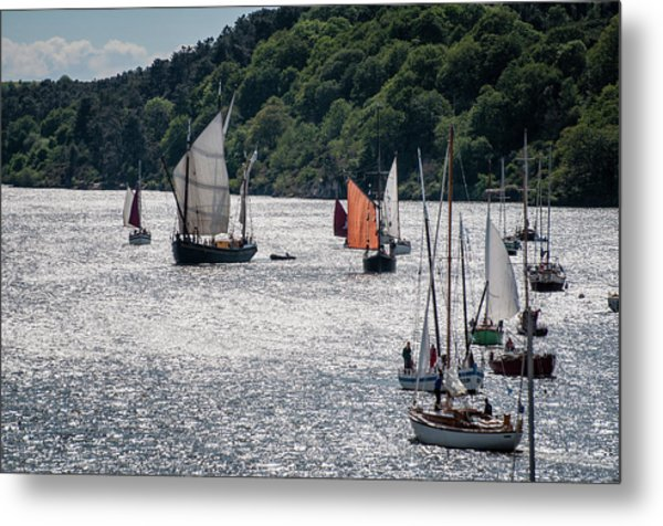 Regatta Time Metal Print
