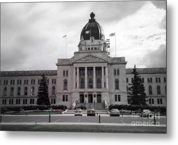 Regina Legislative Building Metal Print