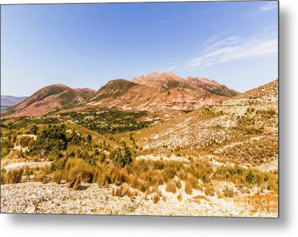 Regional Ruggedness Metal Print