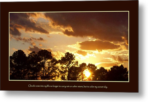 Rejoice Metal Print by Ginger Howland