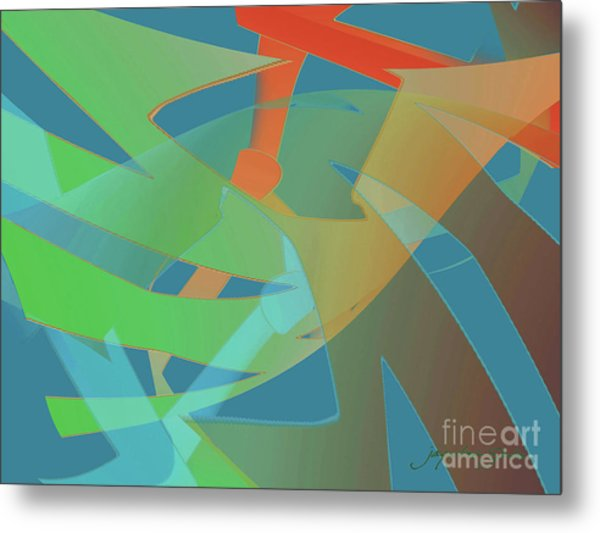 Relationship Dynamics Metal Print
