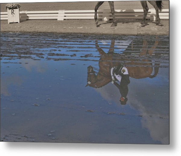 Relaxation Mirrored Metal Print by JAMART Photography