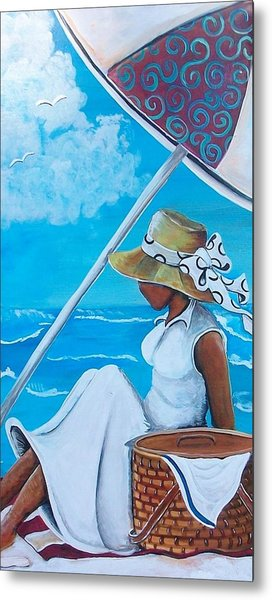 Relaxation Metal Print by Sonja Griffin Evans