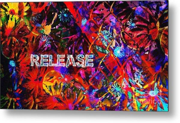 Release Metal Print