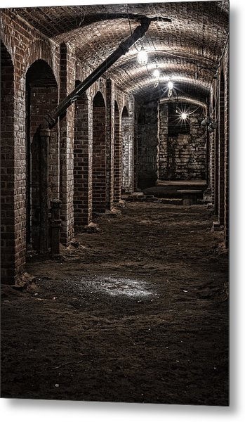 Metal Print featuring the photograph Remains  by Kristi Swift