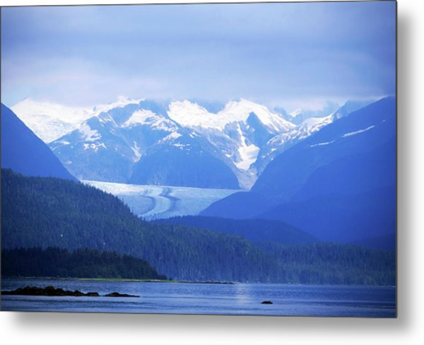 Remains Of A Glacier Metal Print