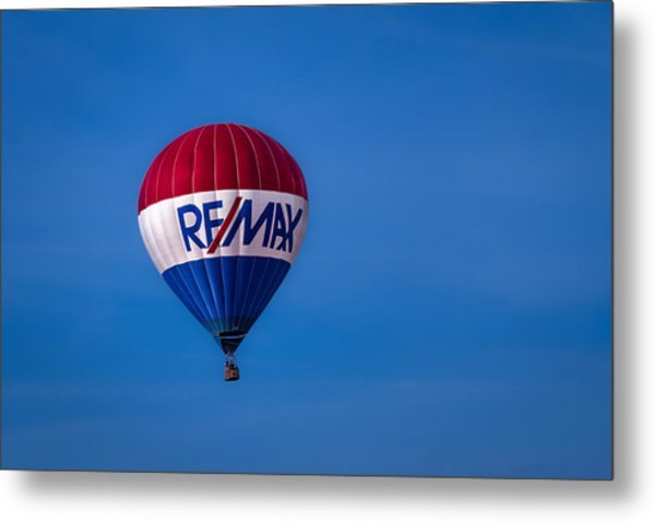 Remax Hot Air Balloon Metal Print
