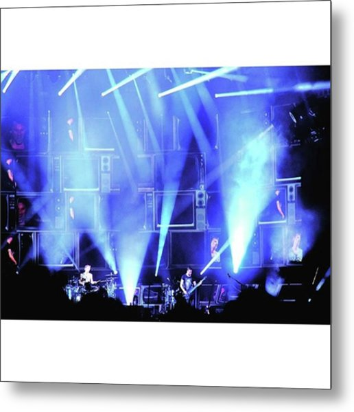 Remembering Awesome Past  #acl Shows & Metal Print