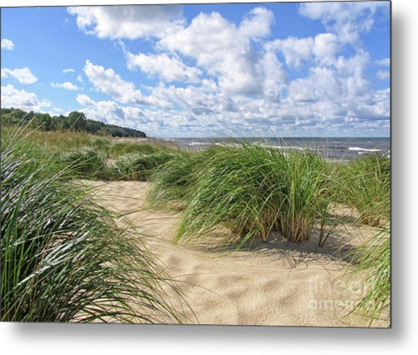 Remembering Summer Beach Scenes Metal Print