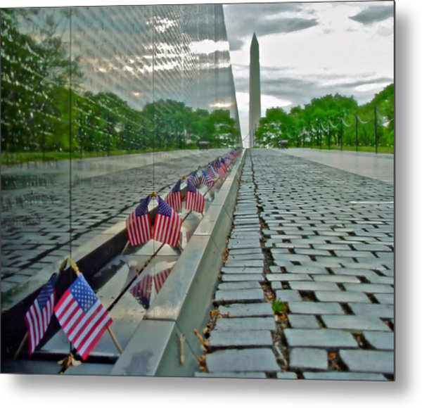 Remembrance Of Patriotism Metal Print