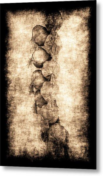 Renasiaance Garlic Metal Print