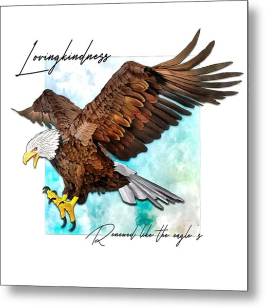 Renewed Like The Eagle's Metal Print