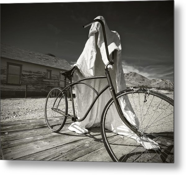 Requesting Permission Metal Print by Mike McMurray