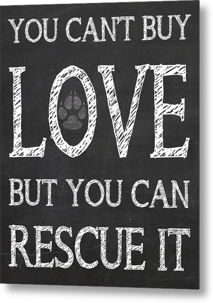Rescue It Metal Print