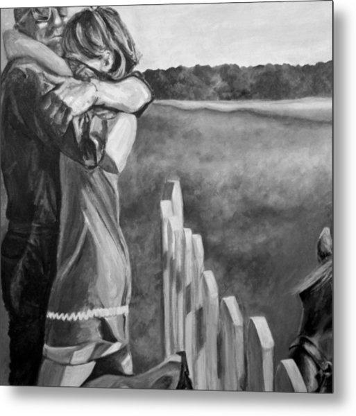 Rescued Pony Metal Print by Natalie Mae Richards