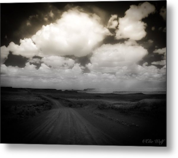Reservation Road Metal Print