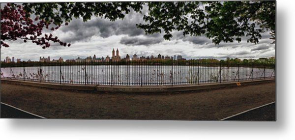 Reservoir Panorama Metal Print