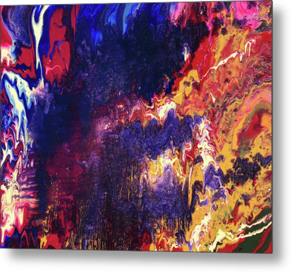 Resonance Metal Print