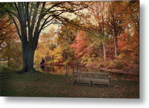 Metal Print featuring the photograph Respite River by Jessica Jenney